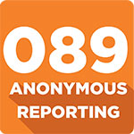 089 Anonymous reporting