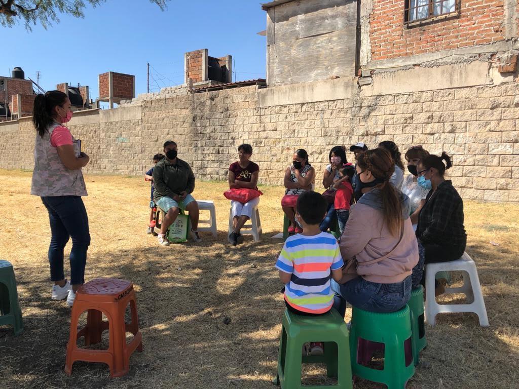 Conforman 1º Red de Mujeres del 2021 en el Fraccionamiento La Cruz
