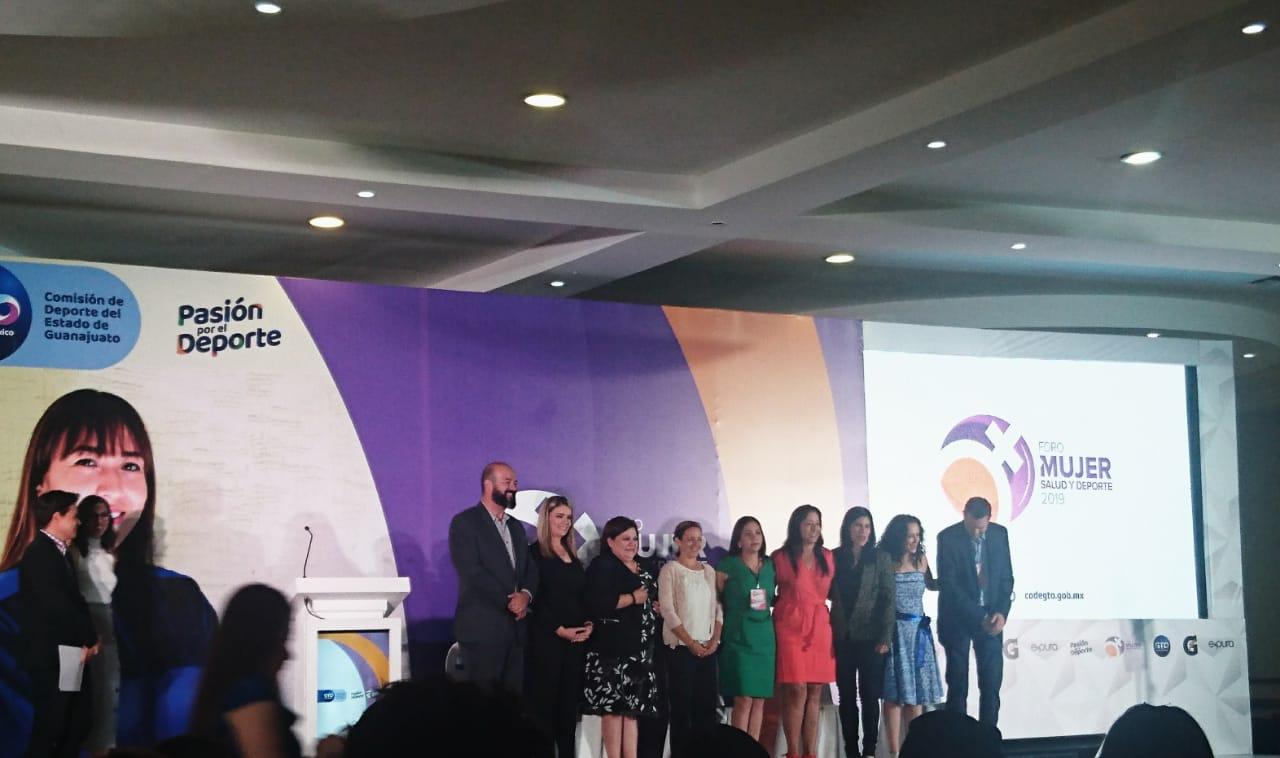 Personal de Comude Silao participa en Foro: ¨Mujer, Salud y Deporte¨ 2019.