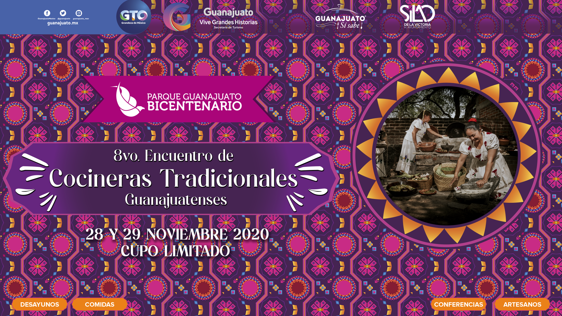 """Invitan al """"8° Encuentro de Cocineras Tradicionales Guanajuatenses en PGB"""