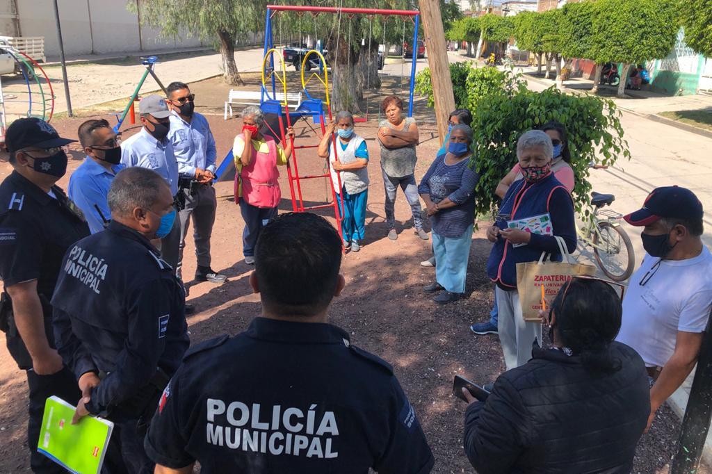 Trabaja Seguridad Ciudadana con el comité de La Joyita