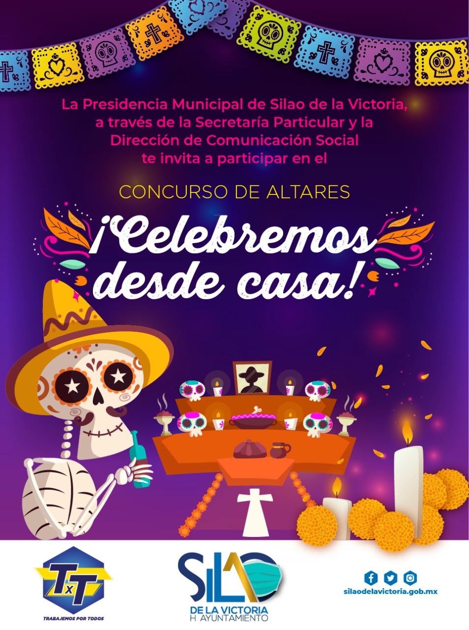 Celebra las tradiciones del día de muertos en casa, programación cultural