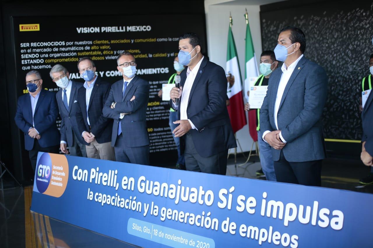 Continua generando Silao más empleos a través de Pirelli