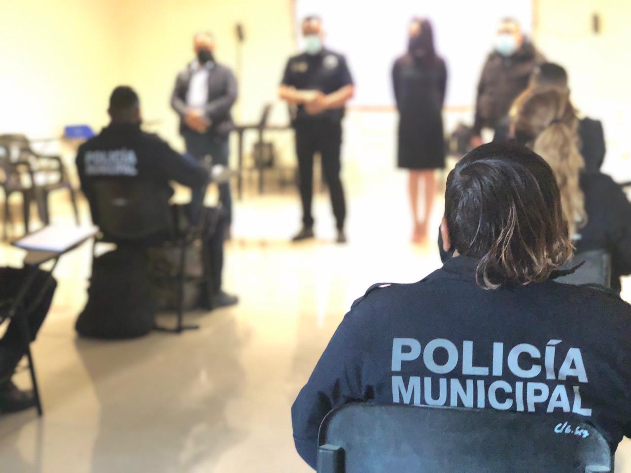 La Presidencia sigue con el proceso de formación continua a policías