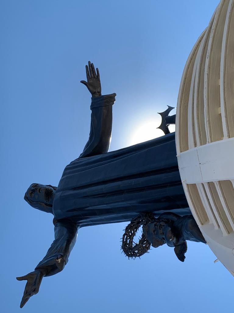 Exhortan no visitar monumento de Cristo Rey, 21 y 22 de noviembre