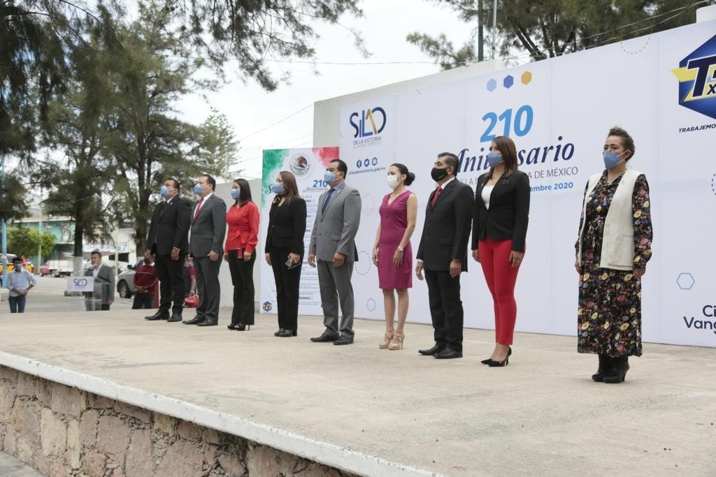 Municipio realizó el evento cívico por el 210 Aniversario del inicio de la Independencia