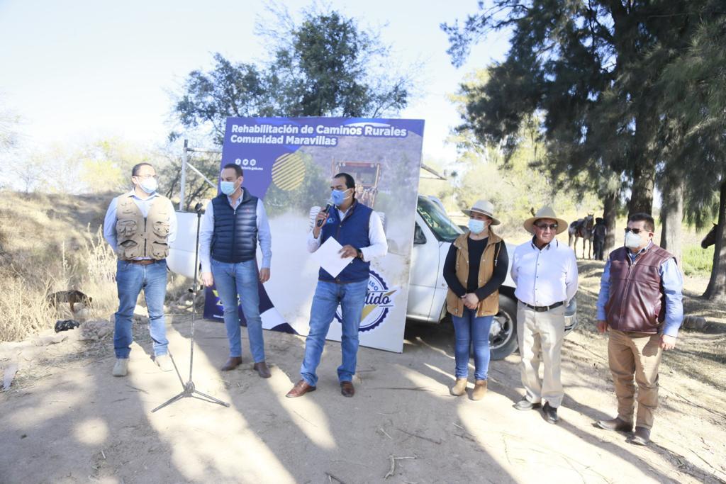 Rehabilita Gobierno Municipal 50 kilómetros de caminos
