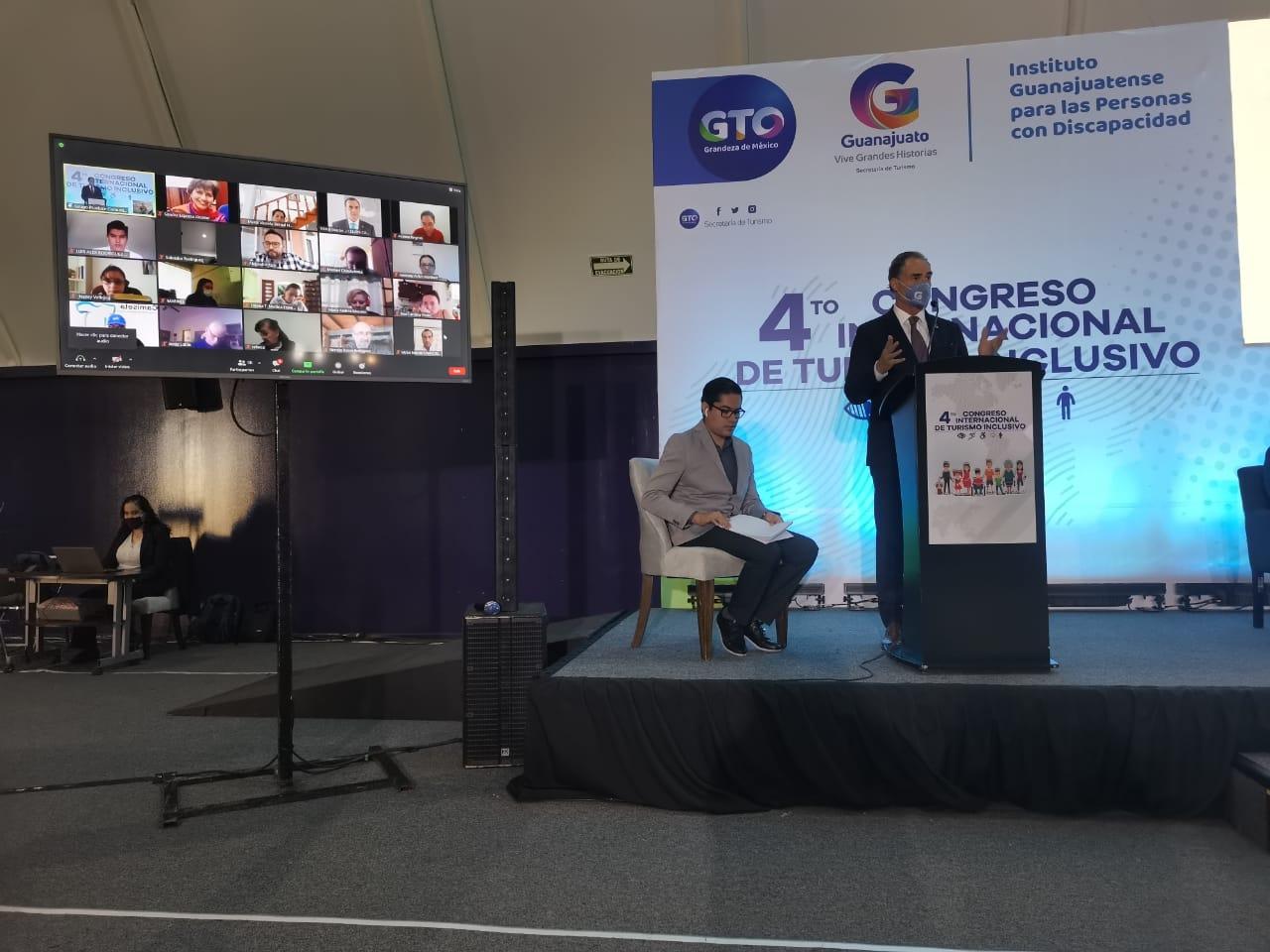"""Silao sede del """"4º Congreso Internacional de Turismo Inclusivo"""""""