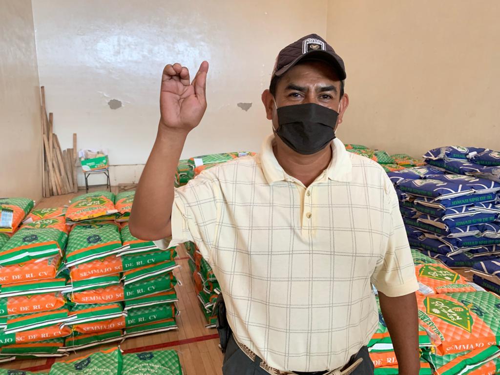 Comienza la entrega de semillas a productores