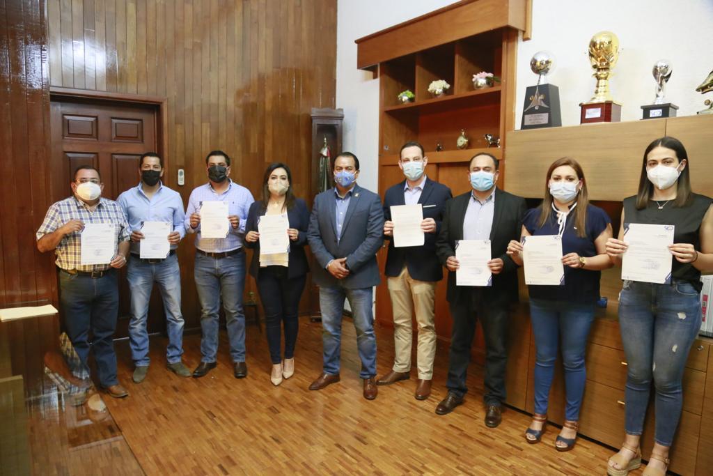 El Secretario del Ayuntamiento Alejandro Peña Gallo presentó su renuncia al alcalde José Antonio Trejo Valdepeña