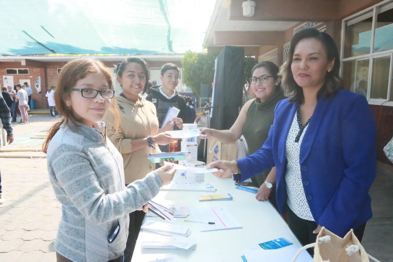 Presidencia Municipal promueve entre jóvenes un estilo de vida saludable