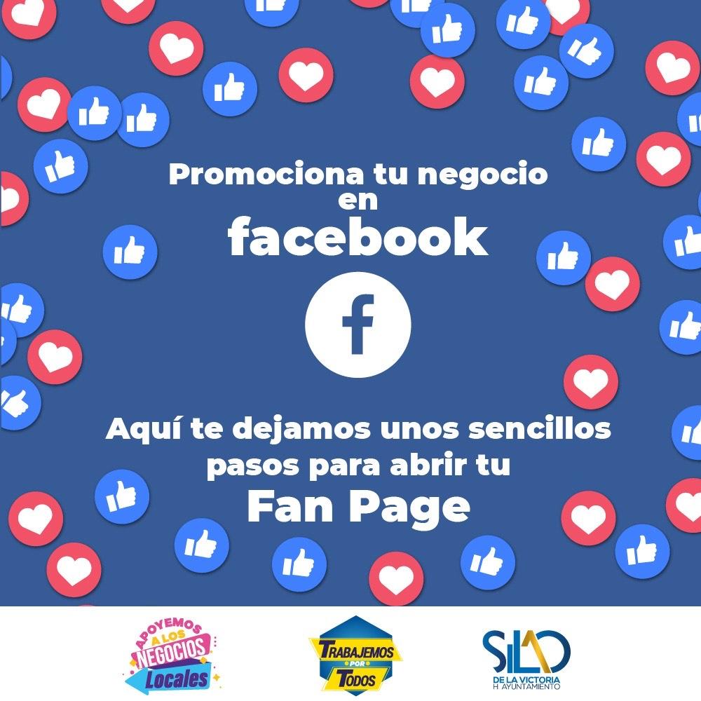 Invitan a crear fan page para promocionar comercio loca