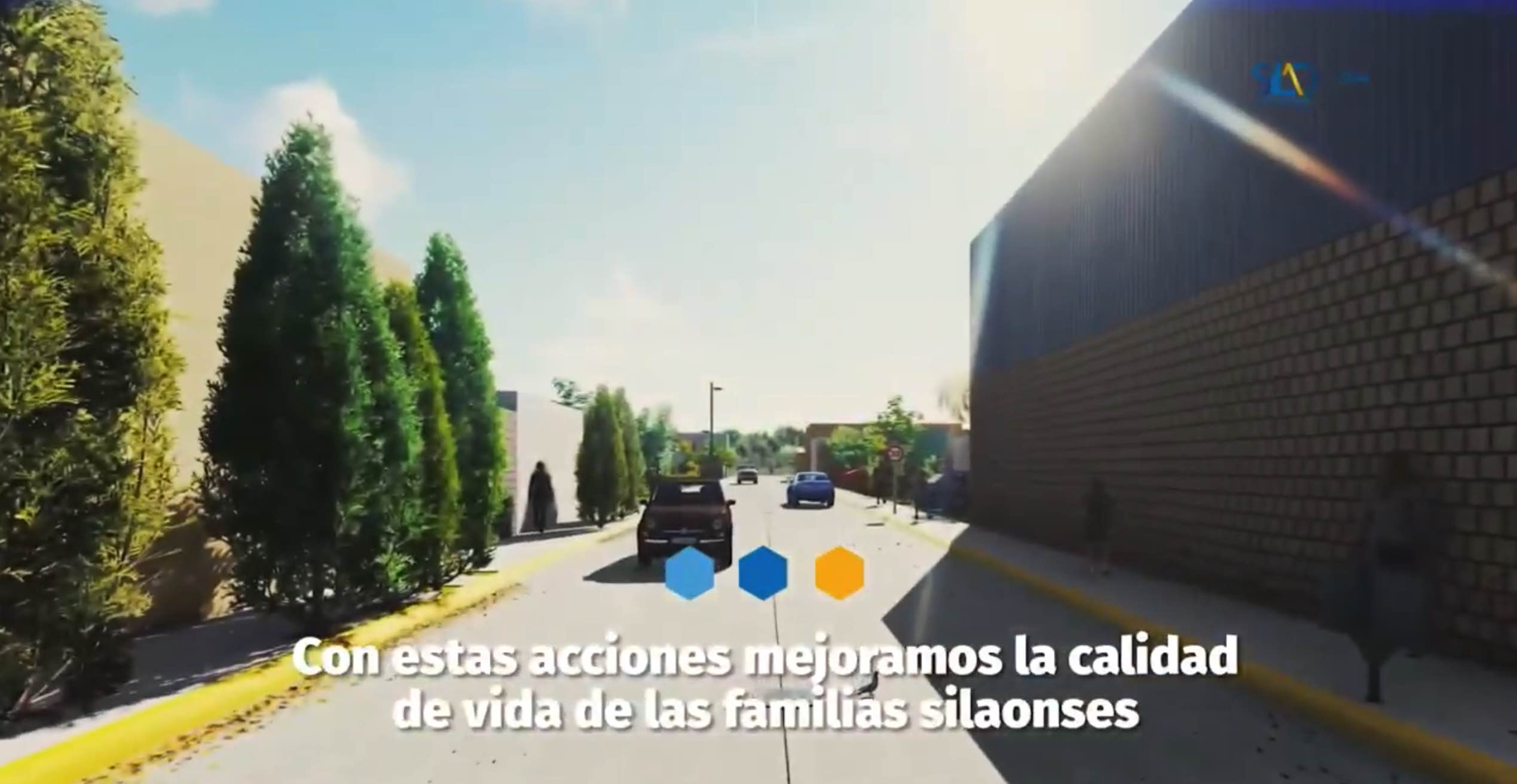 Obra de pavimentación en el fraccionamiento Valle de San José.