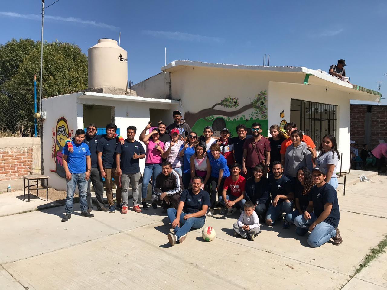 El Instituto Municipal de la Juventud rehabilitó un Jardín de Niños.