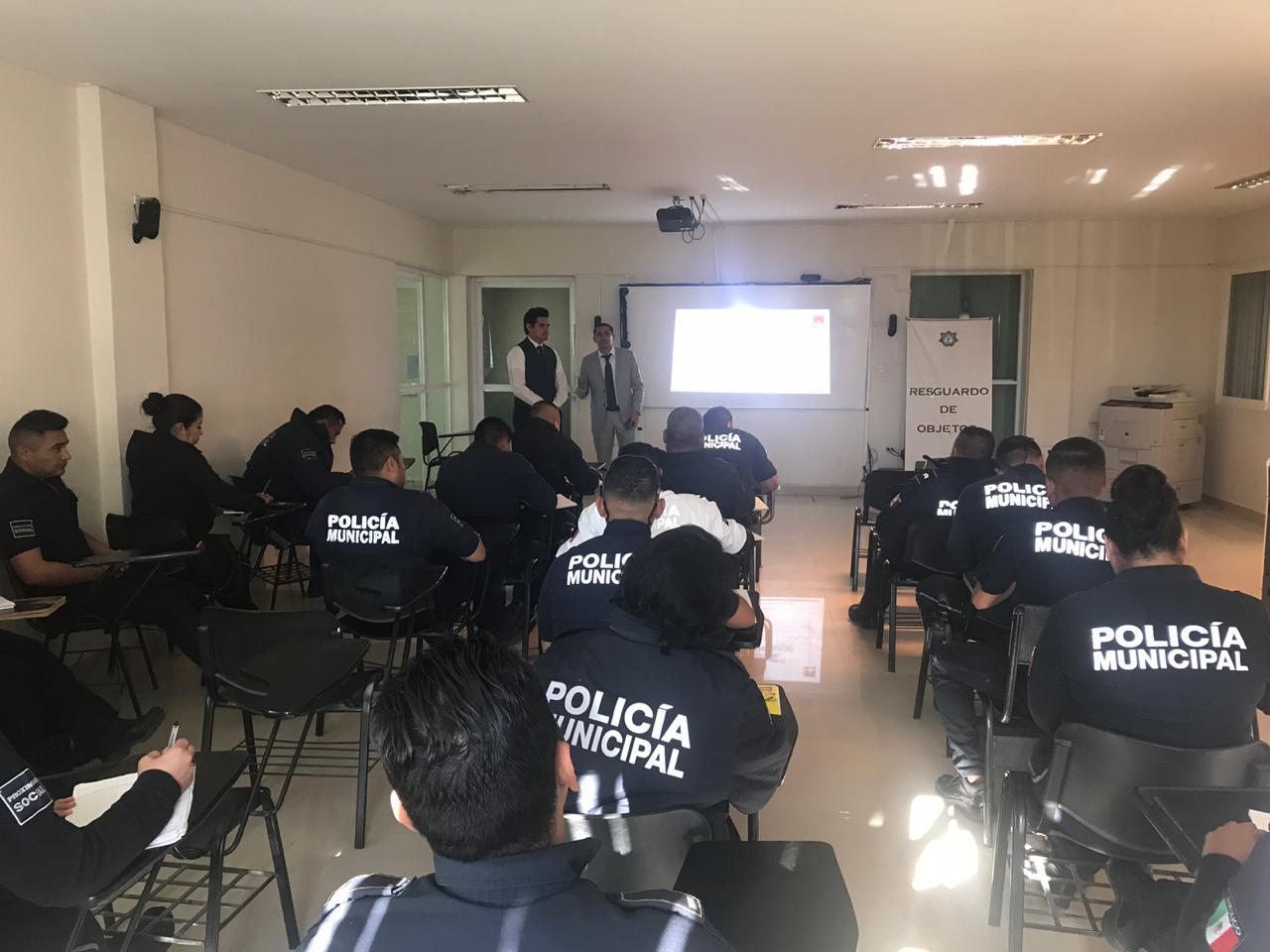 Profesionalizan a policías en temas de Derechos Humanos
