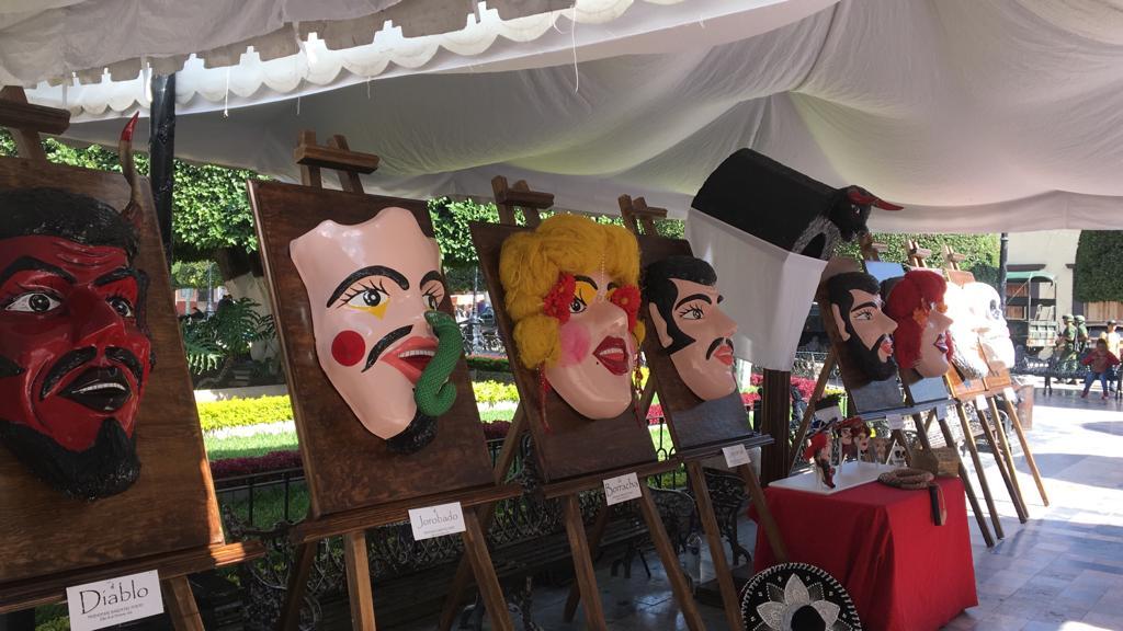 Exhiben artesanías en festejo por el 159 aniversario de la Batalla de Silao de 1860
