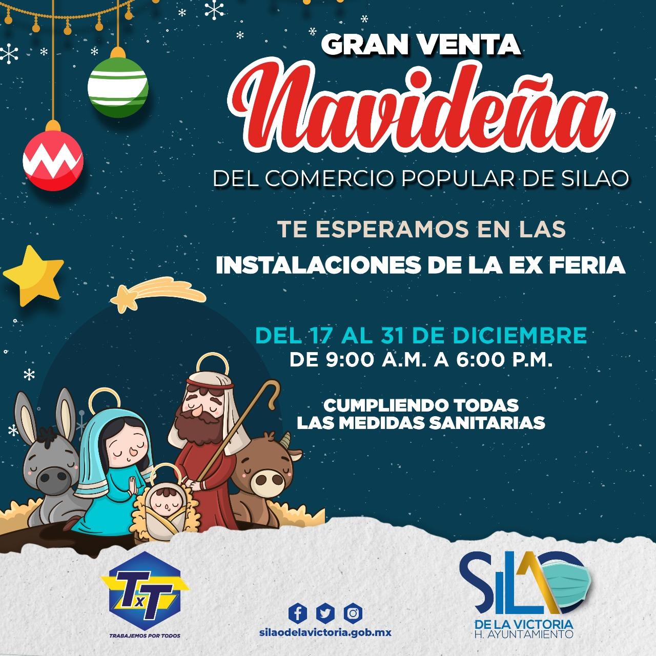 Invitan a la Gran venta navideña del comercio popular en las antiguas instalaciones de la feria