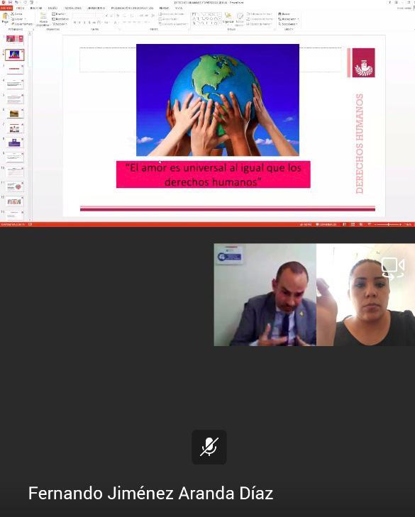 98 personas participan en videoconferencia de diversidad sexual