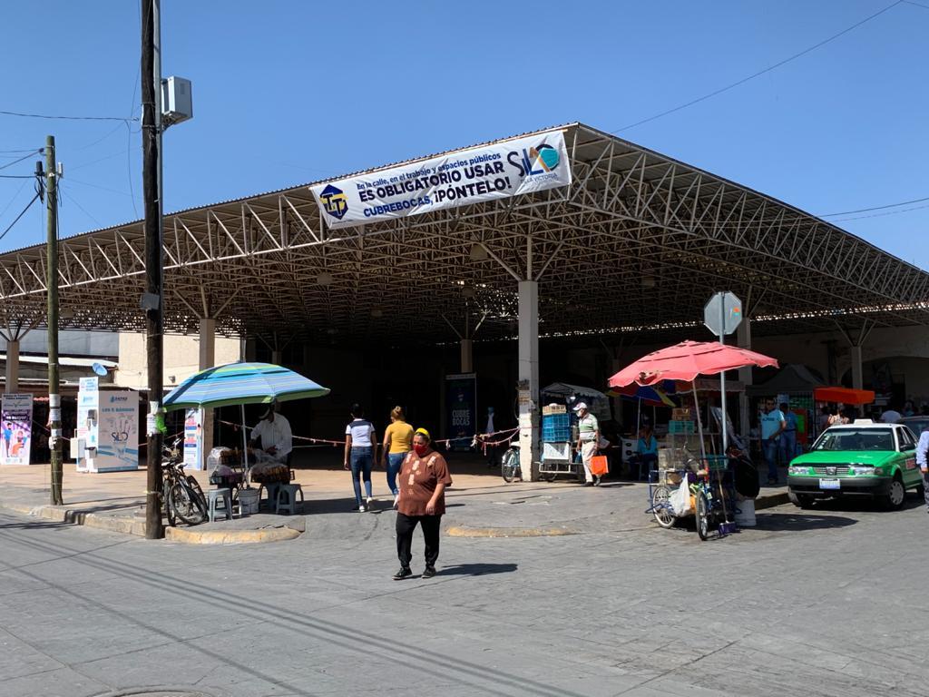 Presidencia Municipal mantiene cerrado mercados, explanadas y espacios públicos de concentración masiva