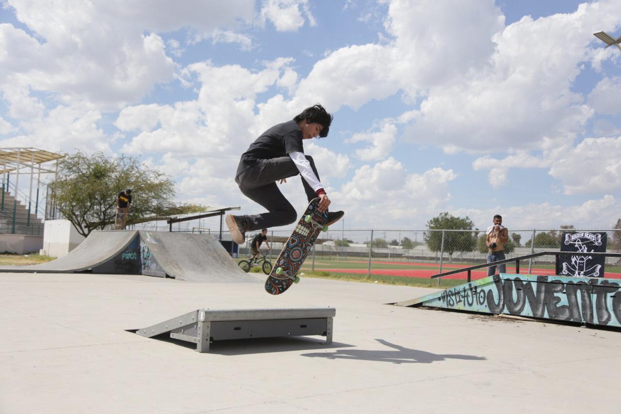 Polideportivo Silao recibe convivencia Skate
