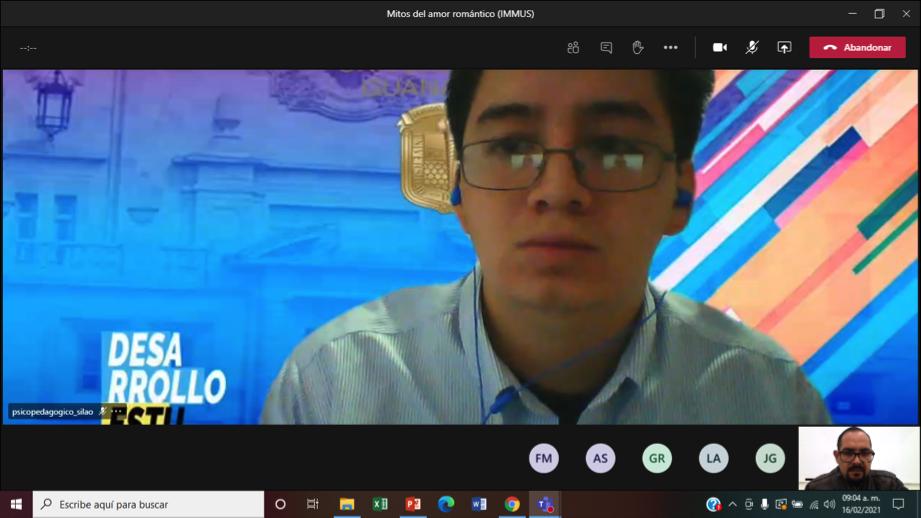 IMMUS e Injuve introducen charlas de prevención en clases virtuales de estudiantes