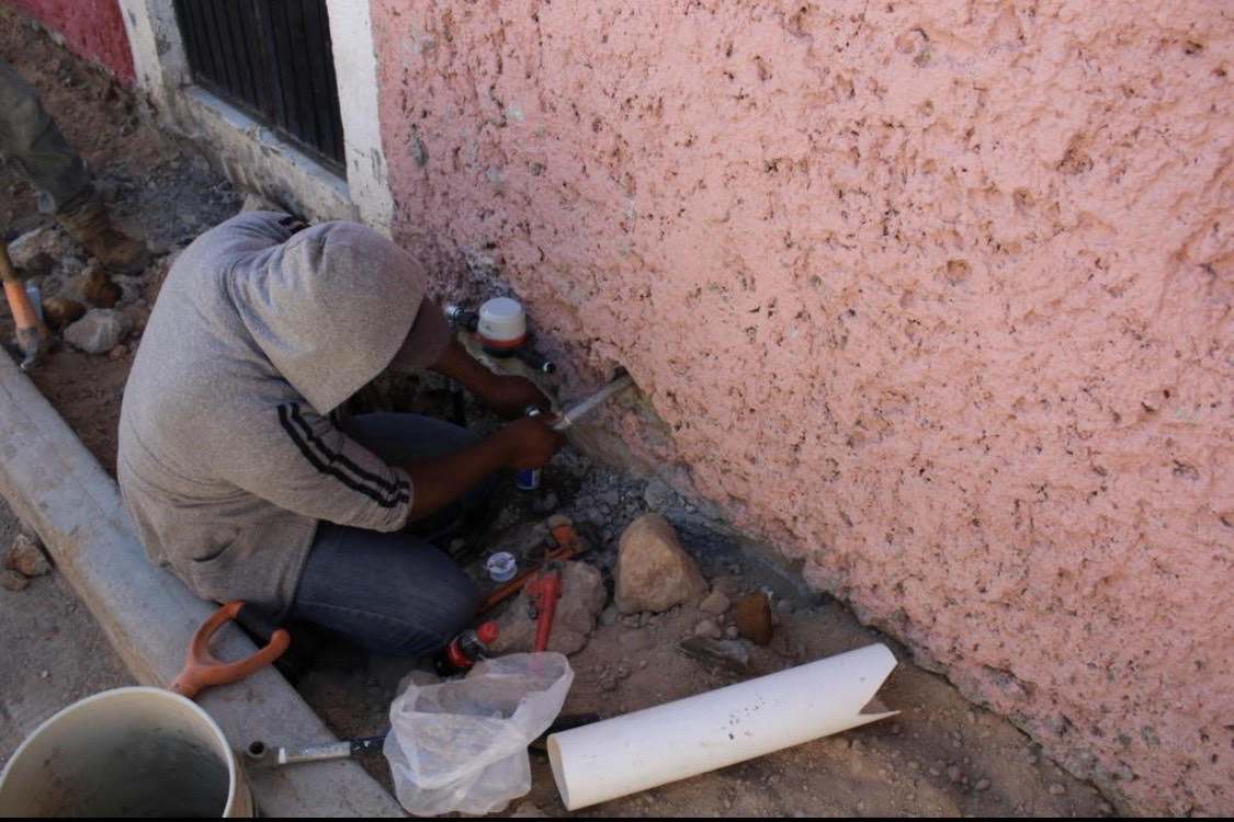 SAPAS continúa las labores de rehabilitación de agua potable