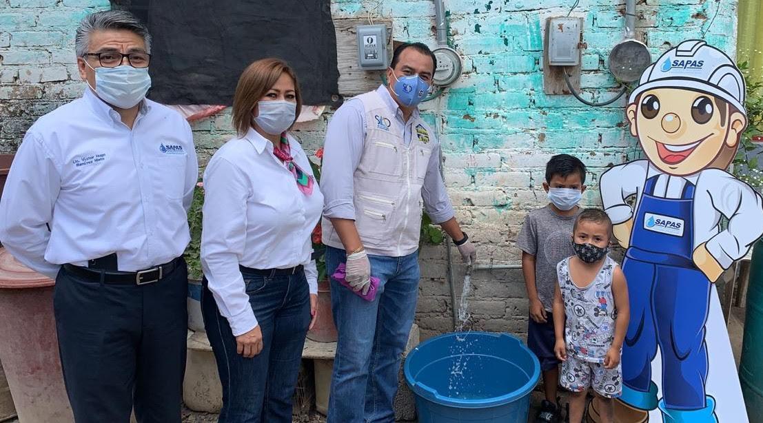 Más comunidades se benefician con el suministro de Agua Potable