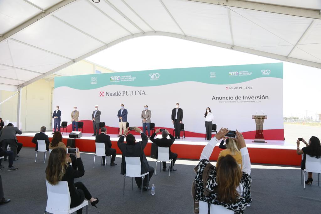 Anuncia Nestlé Purina, inversión de 160 millones de dólares y la generación de empleo