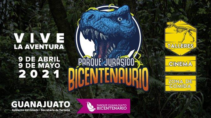Llega Parque Jurásico Bicentenario a PGB