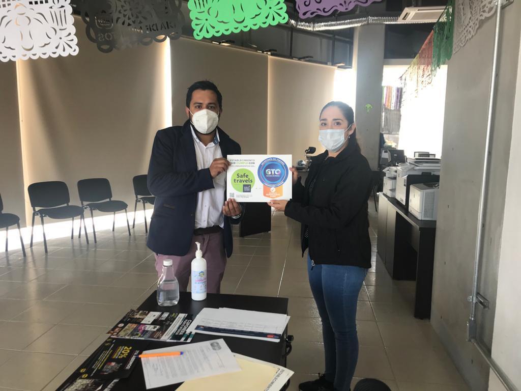 """Más establecimientos se suman a la certificación """"Distintivo Guanajuato Sano"""""""