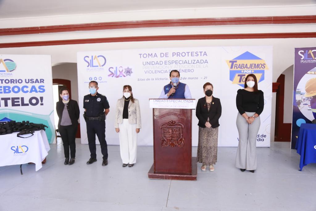 Silao, de los primeros municipios en conformar Unidad Especiliazada en materia de género