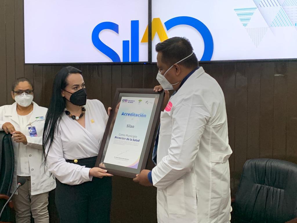 Silao recibe acreditación como Municipio Promotor de la salud
