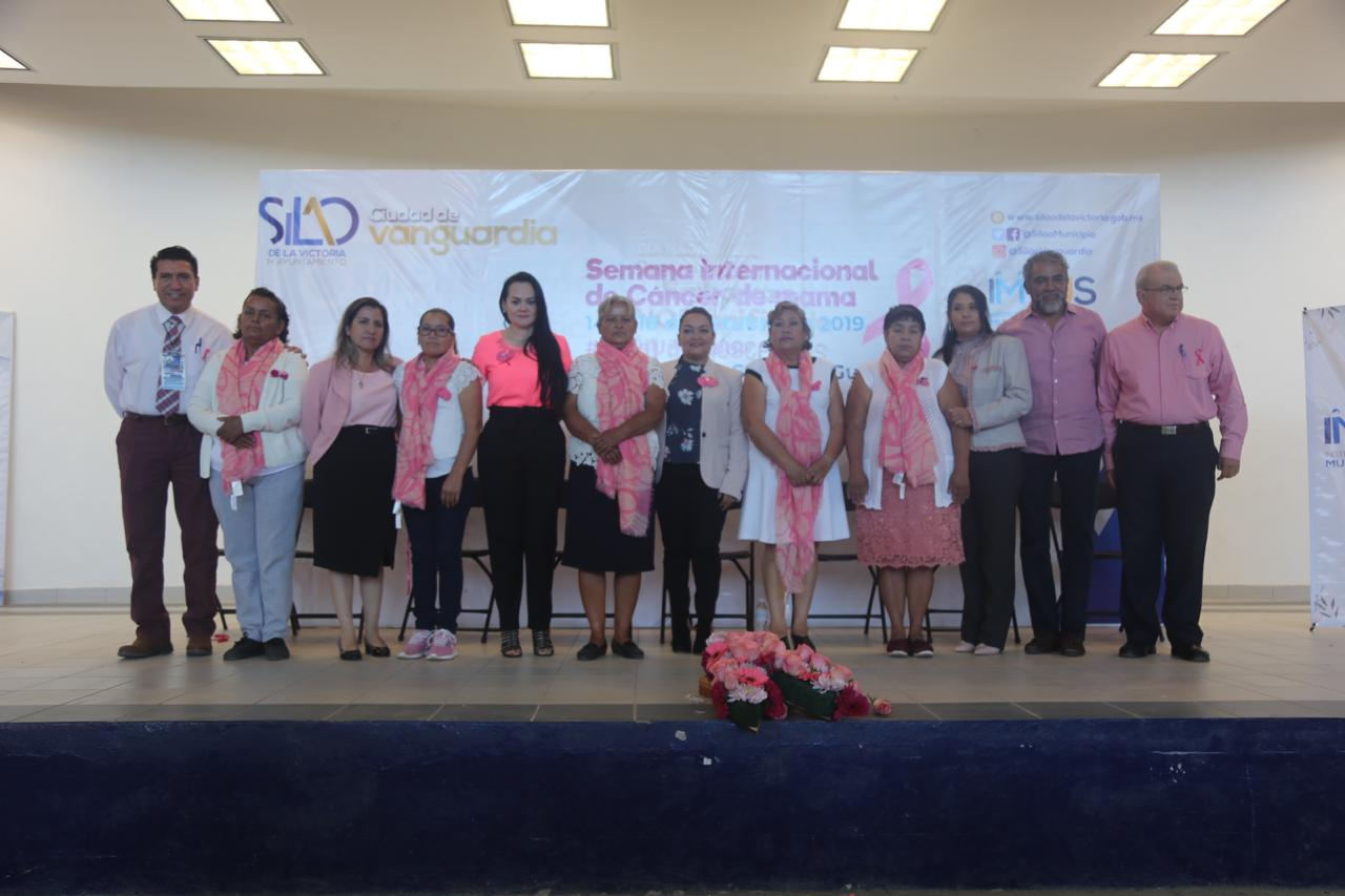 Arranca campaña de prevención para combatir el cáncer de mama