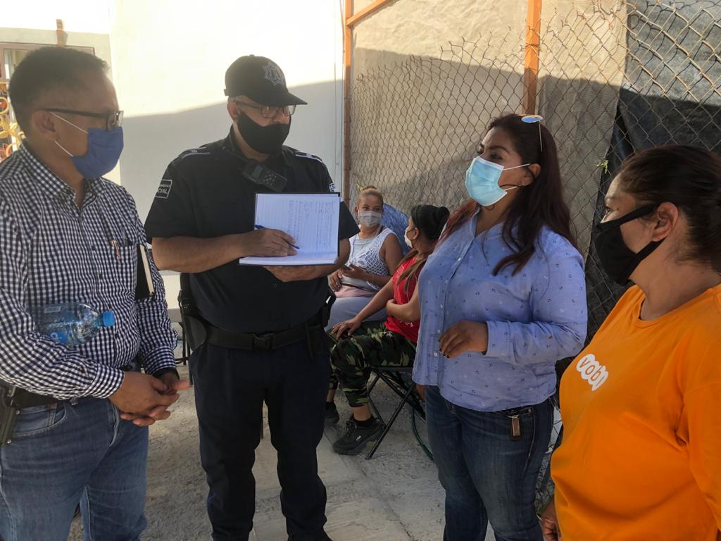 Se suman vecinos de Ex Hacienda de Franco al trabajo de Seguridad Ciudadana