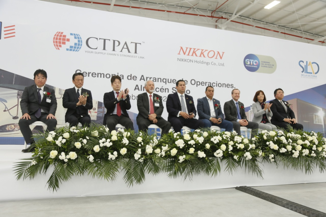 La empresa en logística NKP México cuenta con nuevas instalaciones