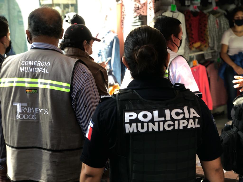 Activan operativo sanitario en Ducoing e Hidalgo